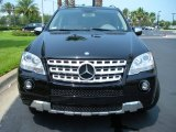 2009 Mercedes-Benz ML Obsidian Black Metallic
