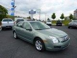 2008 Moss Green Metallic Ford Fusion SE V6 #50690376