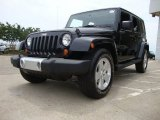 2008 Jeep Wrangler Unlimited Black