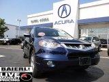 2008 Royal Blue Pearl Acura RDX  #50724323