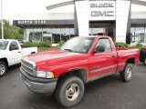 1999 Flame Red Dodge Ram 1500 SLT Regular Cab 4x4 #50724371