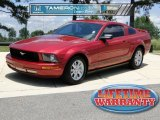 2005 Redfire Metallic Ford Mustang V6 Deluxe Coupe #50724415