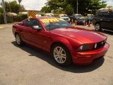 2005 Redfire Metallic Ford Mustang GT Deluxe Coupe #50724426