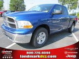 2011 Deep Water Blue Pearl Dodge Ram 1500 SLT Quad Cab #50731458