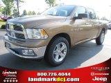 2011 Saddle Brown Pearl Dodge Ram 1500 Big Horn Crew Cab #50731459