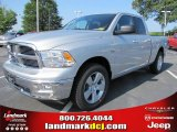 2011 Bright Silver Metallic Dodge Ram 1500 Big Horn Quad Cab #50731463
