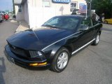 2006 Black Ford Mustang V6 Deluxe Coupe #50731702