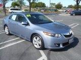 2009 Glacier Blue Metallic Acura TSX Sedan #50731367