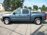 2011 Blue Granite Metallic Chevrolet Silverado 1500 LT Crew Cab 4x4 #50731378