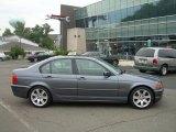 2001 Steel Grey Metallic BMW 3 Series 325i Sedan #50731408