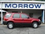 2006 Redfire Metallic Ford Escape XLS #50731421