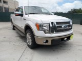 2011 White Platinum Metallic Tri-Coat Ford F150 King Ranch SuperCrew #50731527