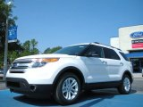 2011 White Suede Ford Explorer XLT #50768744