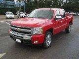 2011 Victory Red Chevrolet Silverado 1500 LT Crew Cab #50769255