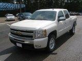 2011 White Diamond Tricoat Chevrolet Silverado 1500 LT Crew Cab 4x4 #50769256