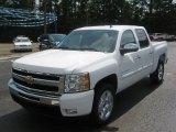 2011 Summit White Chevrolet Silverado 1500 LT Crew Cab #50769257
