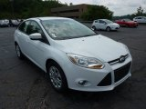 2012 Oxford White Ford Focus SE Sedan #50768758
