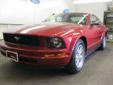 2005 Redfire Metallic Ford Mustang V6 Deluxe Coupe #50769276