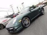 2008 Malachite Green Metallic Porsche 911 Turbo Cabriolet #50768642