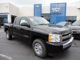 2011 Black Chevrolet Silverado 1500 LS Extended Cab 4x4 #50768817