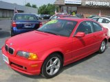 2002 Electric Red BMW 3 Series 325i Coupe #50769144