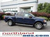 2011 Dark Blue Pearl Metallic Ford F150 XLT SuperCrew 4x4 #50768668