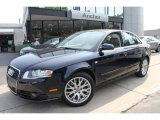 2008 Deep Sea Blue Pearl Effect Audi A4 2.0T quattro S-Line Sedan #50768860