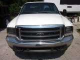 2002 Oxford White Ford F250 Super Duty XL Crew Cab 4x4 #50769166