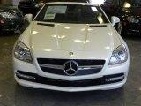 2012 Mercedes-Benz SLK Diamond White Metallic