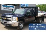 2008 Chevrolet Silverado 3500HD Work Truck Extended Cab 4x4 Chassis Data, Info and Specs