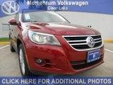 2011 Wild Cherry Metallic Volkswagen Tiguan SEL #50769381
