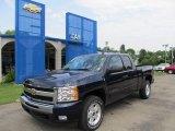 2011 Imperial Blue Metallic Chevrolet Silverado 1500 LT Extended Cab 4x4 #50768730