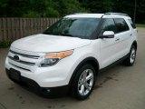 2011 White Platinum Tri-Coat Ford Explorer Limited 4WD #50828237