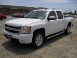 2011 Summit White Chevrolet Silverado 1500 LTZ Crew Cab 4x4 #50828239