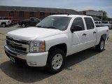 2011 Summit White Chevrolet Silverado 1500 LT Crew Cab #50828240