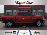 2009 Inferno Red Crystal Pearl Dodge Ram 1500 Big Horn Edition Crew Cab 4x4 #50827801
