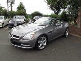 2012 Mercedes-Benz SLK Paladium Silver Metallic