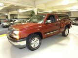 2005 Sport Red Metallic Chevrolet Silverado 1500 Z71 Regular Cab 4x4 #50827975