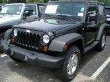 2011 Black Jeep Wrangler Sport S 4x4 #50827734