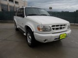 2001 White Pearl Tri-Coat Ford Explorer Limited #50827984