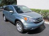 2011 Opal Sage Metallic Honda CR-V EX-L #50827754