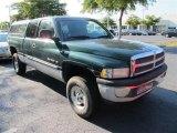 2001 Forest Green Pearl Dodge Ram 1500 ST Club Cab 4x4 #50827765