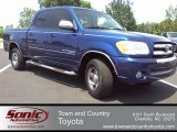 2005 Spectra Blue Mica Toyota Tundra SR5 Double Cab #50828165