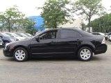 2008 Black Ebony Ford Fusion S #50828343
