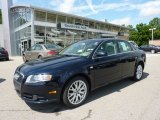 2008 Deep Sea Blue Pearl Effect Audi A4 2.0T S-Line Sedan #50827924
