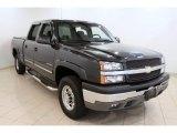 2003 Dark Gray Metallic Chevrolet Silverado 1500 LS Crew Cab 4x4 #50828208