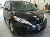 2011 Black Toyota Sienna LE #50828218