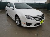 2011 White Platinum Tri-Coat Ford Fusion Sport #50870519