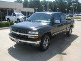 1999 Onyx Black Chevrolet Silverado 1500 LS Extended Cab 4x4 #50870669