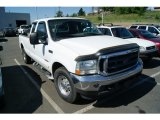 2003 Oxford White Ford F250 Super Duty XLT SuperCab #50870301